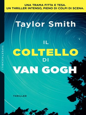 cover image of Il coltello di Van Gogh