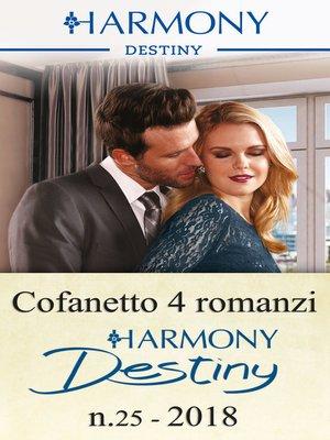 cover image of Cofanetto 4 Harmony Destiny n.25/2018