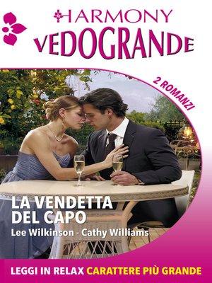 cover image of La vendetta del capo