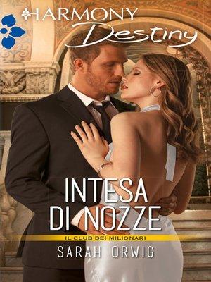 cover image of Intesa di nozze