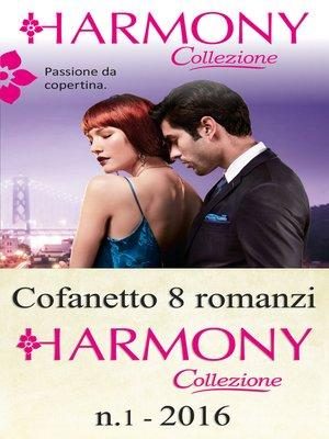cover image of Cofanetto 8 romanzi Harmony Collezione-1