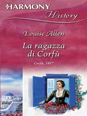 cover image of La ragazza di Corfù