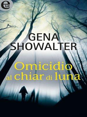 cover image of Omicidio al chiar di luna