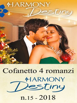 cover image of Cofanetto 4 Harmony Destiny n.15/2018