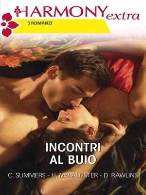 cover image of Incontri al buio