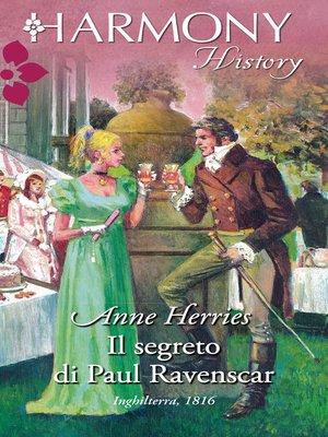 cover image of Il segreto di paul ravenscar