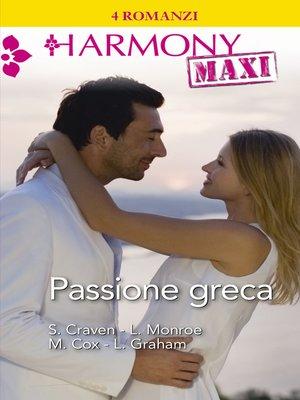 cover image of Passione greca