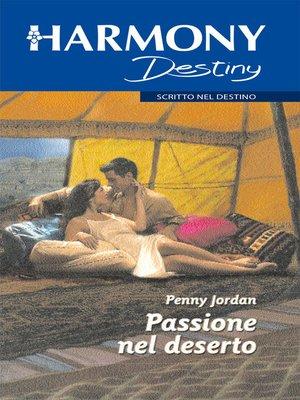 cover image of Passione nel deserto