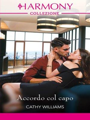 cover image of Accordo col capo