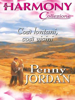 cover image of Così lontani, così vicini