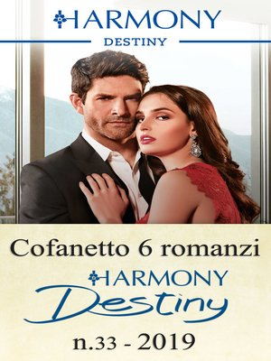 cover image of Cofanetto 6 romanzi Destiny n. 33/2019
