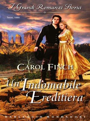 Carol Finch Overdrive Rakuten Overdrive Ebooks Audiobooks And