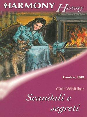 cover image of Scandali e segreti