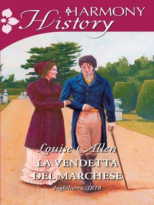 cover image of La vendetta del marchese