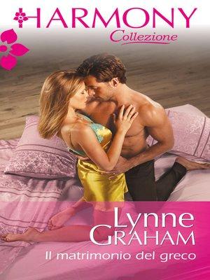cover image of Il matrimonio del greco