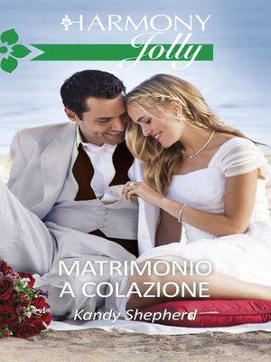 cover image of Matrimonio a colazione