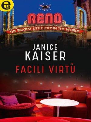 cover image of Facili virtù