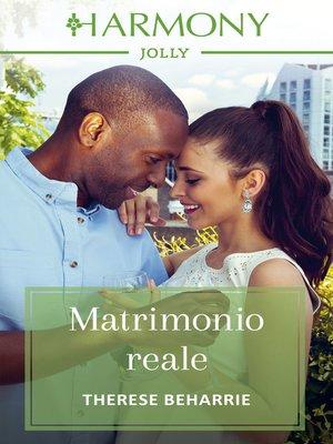 cover image of Matrimonio reale
