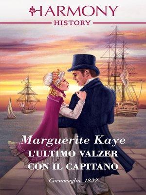 cover image of L'ultimo valzer con il capitano