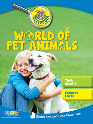cover image of World of Pet Animals