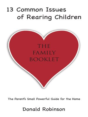 cover image of 13 Common Issues of Rearing Children