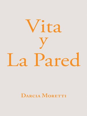 cover image of Vita Y La Pared