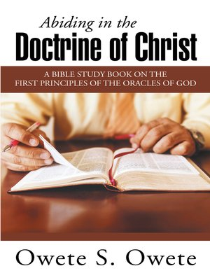 cover image of Abiding in the Doctrine of Christ