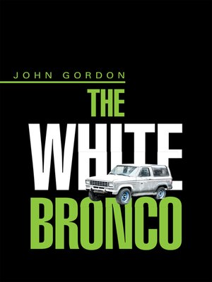 cover image of The White Bronco