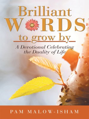 cover image of Brilliant Words to Grow By