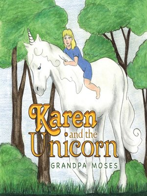 cover image of Karen and the Unicorn