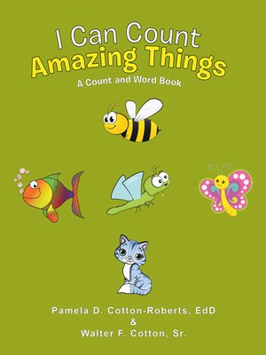 cover image of I Can Count Amazing Things