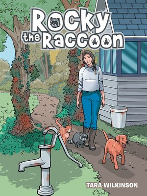 cover image of Rocky the Raccoon
