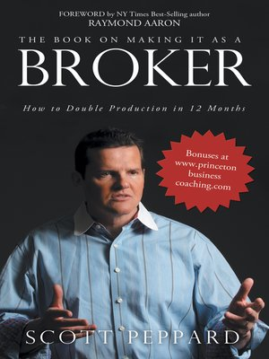 cover image of The Book on Making It as a Broker