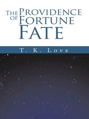 cover image of The Providence of Fortune
