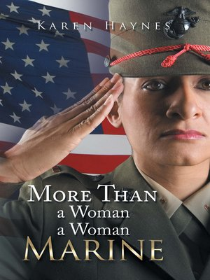 cover image of More Than a Woman a Woman Marine