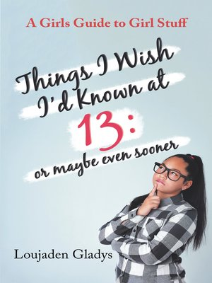 cover image of Things I Wish I'D Known at 13