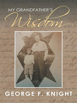 cover image of My Grandfather'S Wisdom