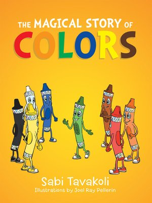 cover image of The Magical Story of Colors