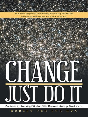cover image of Change—Just Do It
