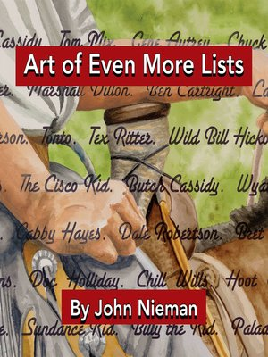 cover image of Art of Even More Lists
