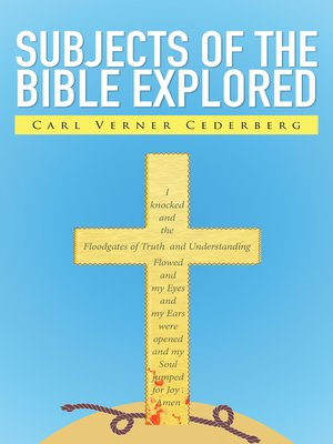 cover image of Subjects of the Bible Explored