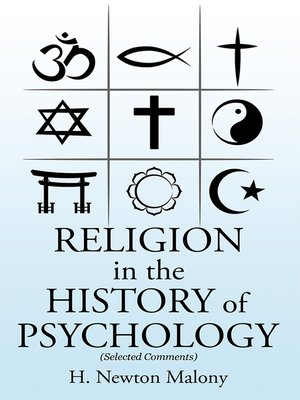 cover image of Religion in the History of Psychology