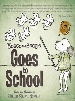 cover image of Bosco the Beagle Goes to School