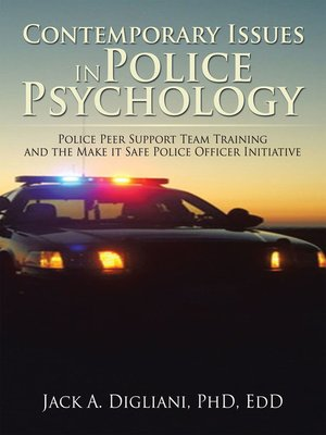 cover image of Contemporary Issues in Police Psychology