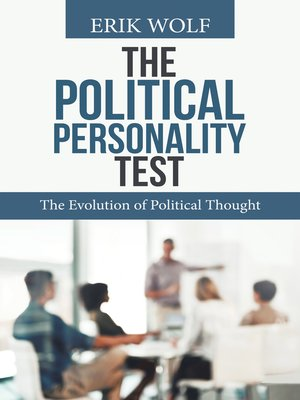 cover image of The Political Personality Test