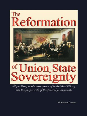 cover image of The Reformation of Union State Sovereignty