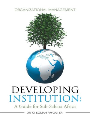 cover image of Developing Institution