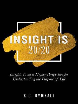cover image of Insight Is 20/20