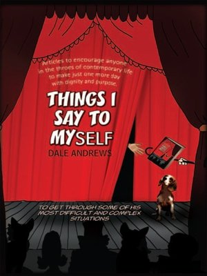 cover image of Things I Say to Myself