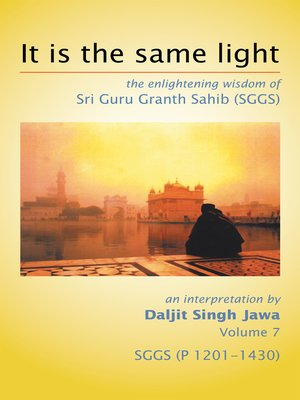 cover image of It Is the Same Light
